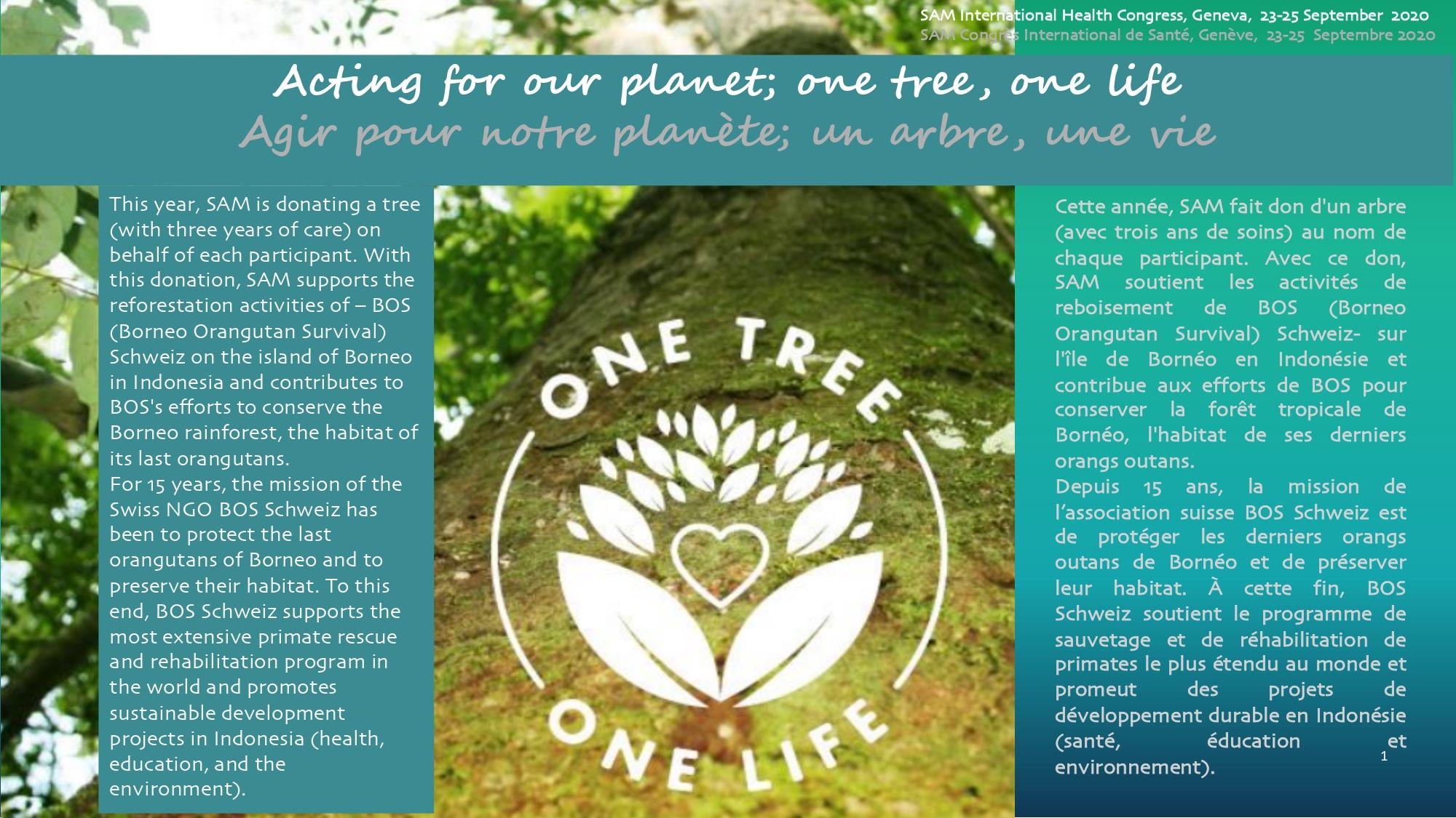 One tree one life IHC